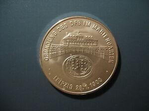 """Medaille AG999 20 Gramm """" Gründung des DFB - Geschichte des deutschen Fußballs """""""