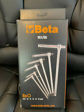 Beta Tools Sliding T-Handle Allen Key Wrench Set 2.5mm - 8mm
