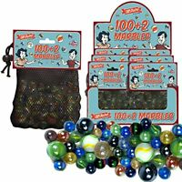 1002 Large Bag of Glass Marbles