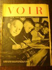 Revue photos - VOIR - Journal de Guerre - N° 31 - Jeunes déportés dans une école