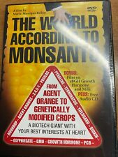 The World According To Monsanto DVD +Growth Hormone & Milk Bonus Film +Audio CD