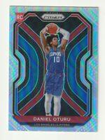 2020-21 Panini Prizm  Basketball Silver Rookie RC Daniel Oturu Clippers #279
