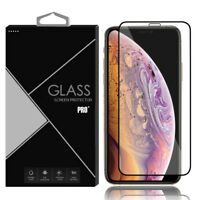 Full Coverage Cover Curved Tempered Glass Screen Protector for iPhone XS Max XR