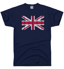 Union Jack vintage UK Flag T-SHIRT British United Kingdom ENGLAND Great Britain