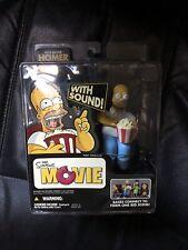 McFarlane Toys The Simpsons Movie Mayhem: Homer w/Sound, New, Sealed