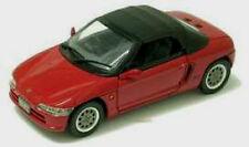 wonderful modelcar HONDA BEAT Roadster 1991- closed top  - red  - scale 1/43