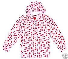 WATERPROOF WINDPROOF BREATHABLE JACKET Ladies 14-16 lush pink red spotty coat