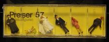 Preiser, Vintage, New in Package, Item# 57  HO scale  Wedding party, Protestant