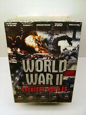 World War II Greatest Battles VHS Set of 5 Collector Series