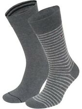 Tommy Hilfiger Men's Socks UK Size 9-11 Grey 2 Pack - Box61 12