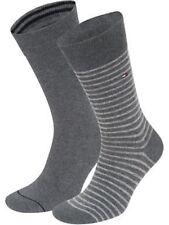Tommy Hilfiger Men's Socks UK 6-8 Grey 2 Pack - Box6105