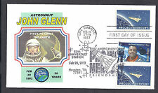 PROJECT MERCURY FEB. 20 POSTMARKS 1962 AND 2012 * HOUSTON >