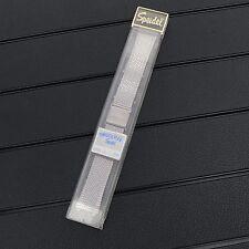 NOS Vintage Speidel Twist-O-Flex Bulova Accutron 18mm Stainless Steel Watch Band