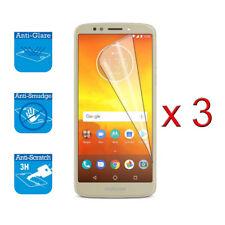 For Motorola Moto E5 5.7 inches LCD Screen Protector Cover Guard Film Foil x 3