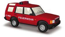 Busch 51910 LAND ROVER SCOPERTA, Pompieri, H0 modello 1:87
