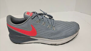 Nike Air Zoom Structure 22 Running Shoes, Grey, Men's 12 M