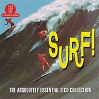 VARIOUS ARTISTS - SURF: THE ABSOLUTELY ESSENTIAL 3 CD COLLECTION USED - VERY GOO