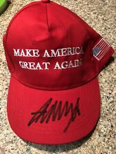 New ListingDonald Trump Autographed Signed Make America Great Again Red Hat Maga 2020
