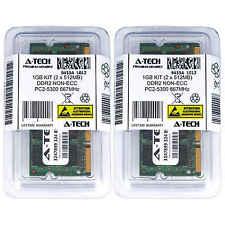 1GB KIT 2 x 512MB SODIMM DDR2 NON-ECC PC2-5300 667MHz 667 MHz DDR-2 Ram Memory