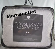 Hotel Collection European White Goose Down Comforter FULL / QUEEN Medium Weight