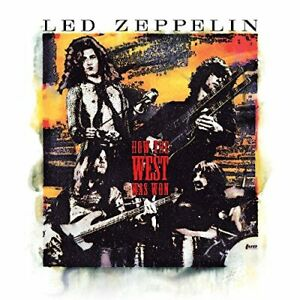LED ZEPPELIN-HOW THE WEST WAS WON-JAPAN 3 CD +Tracking number