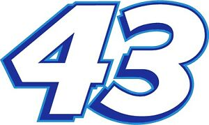 NEW FOR 2020 #43 Bubba Wallace Racing Sticker Decal - Sm thru XL - various color
