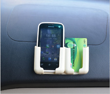 (1)Car Phone adjustable bracket Multi-purpose Good Beige Accessories Holder Card