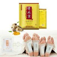 Premium Ginger Detox Foot Pads Patch Organic Herbal Cleansing Detox Pads 10-200x