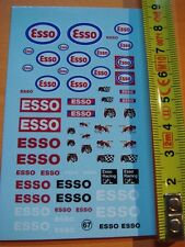 "DECALS 1/43  PETROLIER "" ESSO "" -  T67"
