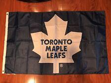 New listing Toronto Maple Leafs Huge Flag 3'X5' Feet Indoor/ Outdoor Nhl Man Cave Hockey