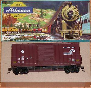 ATHEARN 1959 40 FT HI CUBE BOX CAR CONRAIL CR 230617 BUILT