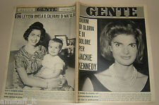 GENTE 1964/37=JACKIE KENNEDY=MANARA VALMIGLI=CHIOGGIA=ENZO PAGANI=MARIO ANZIDEI=