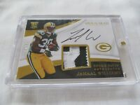2017 Immaculate FB #121 Jamaal Williams Packers LETTER RELIC AUTO RC #47/99 !!