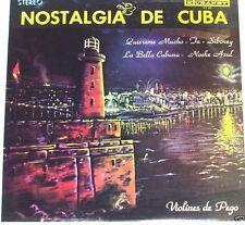 Los Violines de Pego  Nostalgia de Cuba       LP