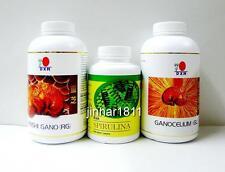 DXN Reishi Gano RG 360 + Ganocelium GL 360 + Spirulina 500 Ganoderma  Organic