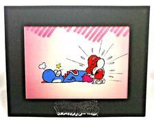 Nintendo Of America Super Mario World 2 Yoshi World Baby LE #430 Picture Cel