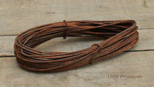10 coils of 16 gauge Primitive Rusty Tin Wire . 36 ft coils . Crafts