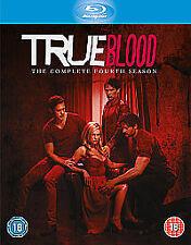 True Blood Season 4 Blu ray All Episodes 4th Fourth Season New UK Release