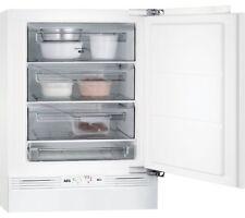 AEG ABB68211AF Built-Under Freezer, A+ Energy Rating, 60cm Wide, White