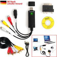USB 2.0 auf AV Audio Video TV PC Adapter Konverter Capture Grabber Karte Kabel