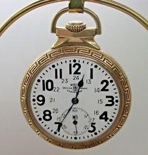 16 Size Ball Official Standard 1913 M999N 23 Jewel Pocket Watch Model Circa 1913