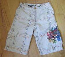 * DESIGUAL * dernières Jeans-Short, Taille 5-6 ans/110/116, Beige/Multicolore