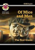 GCSE English Text Guide - Of Mice and Men by CGP Books  Paperback Book