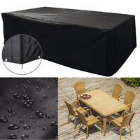 Large Waterproof Furniture Cover Outdoor Garden Patio Bench Table Rain ProtectDD