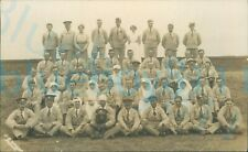 More details for ww1 mixed regiments wounded soldiers group photo with nurses hospital blues