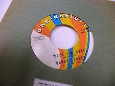 Benny Turner Come Back Home/When I'm Gone 45 RPM One-derful Records VG