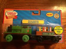 Percy & the Storybook Car for the Thomas Wooden Railway System New in Pkg.