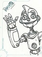 """Robots The Movie - SK7 """"Jeff Zugale"""" Sketch Card #456/501"""