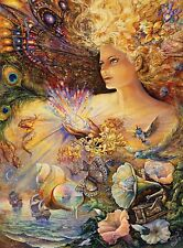 Crystal of Enchantment Josephine Wall 1000pc Glitter Edition Jigsaw Puzzle