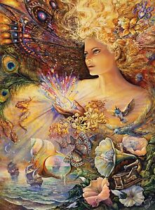 Buffalo Games - Josephine Wall - Crystal of Enchantment - 1000 Piece Jigsaw Puzz
